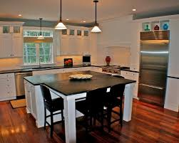 kitchen island table combination. Kitchen: Appealing 30 Kitchen Islands With Tables A Simple But Very Clever Combo On Island Table Combination