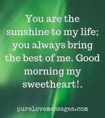 90 sweet good morning messages for her
