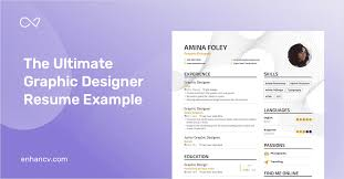 Resume Of A Graphic Designer Graphic Designer Resume Example And Guide For 2019