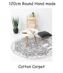 hand woven round rugs home