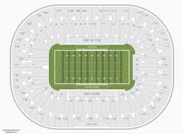 Notre Dame Stadium Detailed Seating Chart 79 Particular Notre Dame Joyce Center Seating Chart