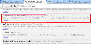 How To Resume Cancelled In Google Chrome Download