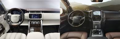 Head to Head: 2016 Land Rover Range Rover vs. 2016 Toyota Land ...