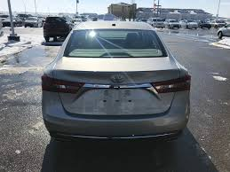 New 2018 Toyota Avalon 4 Door Car in Red Deer, AB J3025