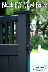 black vinyl privacy fence. Black Privacy Fence Pool Ideas That Add Curb Appeal Incredible Craftsman Vinyl