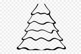 christmas drawing outline. Simple Christmas Christmas Tree Outline  Drawing Easy Intended O