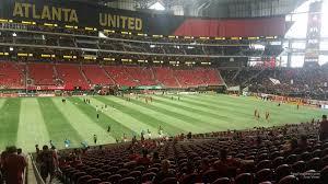 Atl Utd Seating Chart Mercedes Benz Stadium Club 112 Atlanta United