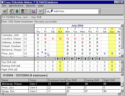 schedule creater 22 easy schedule standart radiokrik