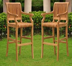 attractive tall patio chairs furniture modern outdoor teak wood for seating sets interior decorating photos tall outdoor chairs m99