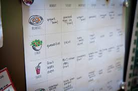a few weeks ago i posted a photo on insram of my menu and workout plan and folks seemed very excited about me turning my little hand drawn chart into a