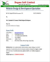 software quotation format in word quotation format for website development in word oyle kalakaari co