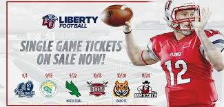 Liberty Football Seating Chart Football Single Game Tickets Now On Sale Liberty Flames