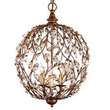currey company round crystal bud chandelier cc 9652 and
