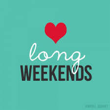 Image result for 4 day weekend