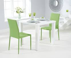 dining furniture atlanta. buy the atlanta 80cm white high gloss dining table with stackable chairs at oak furniture