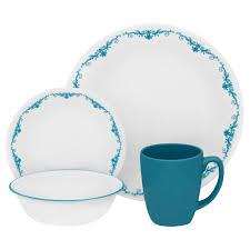 dinnerware sets 64 piece. corelle 16-pc. dinnerware set - garden lace sets 64 piece