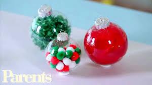 Easy Homemade Christmas Ornament Ideas   Parents - YouTube
