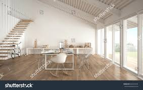 interior contemporary black modern office. Inspiring Minimalist White Office Architect And Planning Department Interior Design Illustration Contemporary Black Modern W