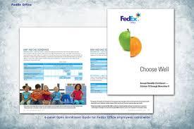 Fedex Brochure Design Fedex Office On Behance