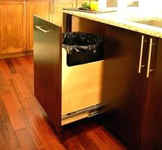 trash pullout trash drawer custom gallon trash can pull out contemporary kitchen trash drawer foot pedal