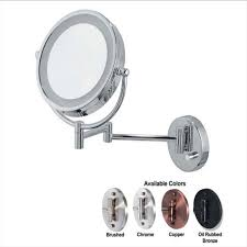 ovente wall mounted vanity mirror with lights 8 5 inches mpwd3185 series