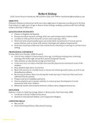 Nanny Resume Sample Qualifications Professional Samples Objectives