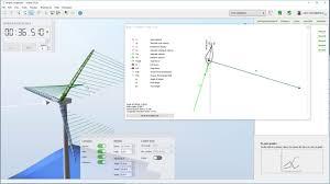 Wind Turbine Aerofoil Design Wind Turbine Velocity Triangle Explained With Ashes The Wind Turbine Simulation Software