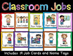 Classroom Job Cards Classroom Jobs Class Jobs Preschool