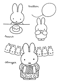 Miffy Coloring Pages Miffy Party Miffy Color Coloring Pages