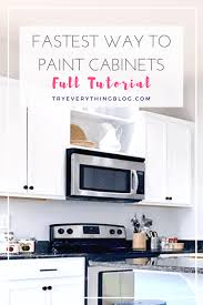 The Fastest Way To Paint Kitchen Cabinets With The Best Results 4