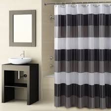 Croscill Fairfax Shower Curtain in Black