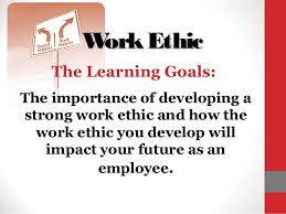 define work ethic co work ethic