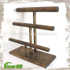 Wooden Jewellery Display Stands Gorgeous Multilayer Wooden Jewelry Showcase Display Stand Rack Buy Jewelry