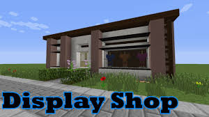 Minecraft Shop Designs Minecraft Display Clothes Shop Tutorial Minecraft