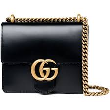 gucci purse. gucci small marmont bag - black found on polyvore featuring bags, handbags, black, purse