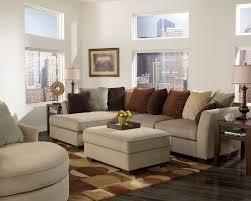 Leather Living Room Sectionals Living Room Sets Jessa Place Pewter Sectional Living Room Set
