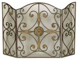 image of decorative fireplace screens canada