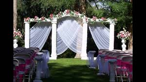 Small Picture Home Garden wedding decoration ideas YouTube