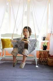 Baby and Toddler Swing DIY - A Beautiful Mess