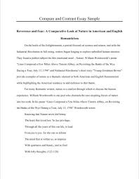 Free Compare And Contrast Essay Examples For Your Help