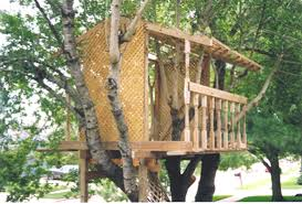 Plain Easy Tree House Designs E To Decor