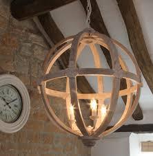 wooden chandelier lighting. Beautiful Chandelier Large Round Wooden Orb Chandelier Images  1 2 3 Inside Chandelier Lighting D