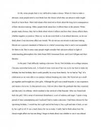 ethical decisions essay zoom