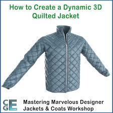 MD113 - Marvelous Designer Quilted Jacket Video Tutorial Workshop ... & MD113 – Marvelous Designer Quilted Jacket Video Tutorial Workshop Adamdwight.com