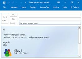 Create Outlook Message Template How To Create A Template For Outlook Messages