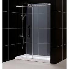 get ations dreamline dl 6621c 08cl enigma x fully frameless sliding shower door and slimline