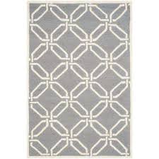 cambridge dark gray ivory 4 ft x 6 ft area rug
