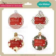 Gift Cards For Christmas Christmas Ornament Gift Card Holders