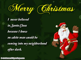 funny christmas quotes to santa