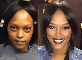 birthday makeup transformation
